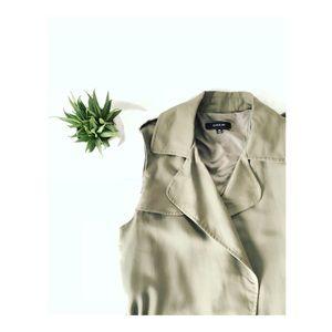 • DREW trench jacket •